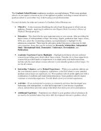 Categories For A Resume Academic Resume Template For Graduate Samples Of Resumes