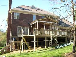 Log Homes With Wrap Around Porches Screened Porch Concord Nc Room Addition Sunroom