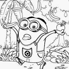 printable 22 cute despicable minion coloring pages 4333 cute