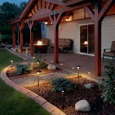 outdoor electric landscape lighting electric landscape lighting kits pave dot patio outdoor landscape