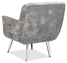 Silver Accent Chair Moda Accent Chair Charcoal American Signature Furniture