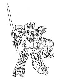 power rangers megazord coloring pages coloring pages kids collection