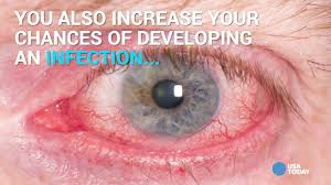 halloween contacts usa what really happens when you sleep in contact lenses youtube