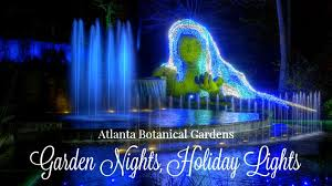 atlanta botanical garden lights atlanta botanical gardens lights brilliant holiday fun