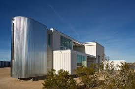 desert shipping container home flies through permitting located in