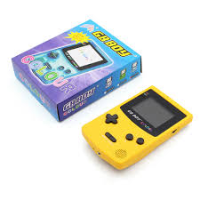 gb boy color colour handheld game consoles game player