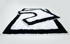 Black And White Bathroom Rugs Black And White Bathroom Rugs Engem Me