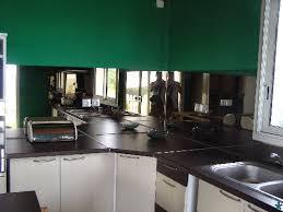 credence cuisine miroir crédence de cuisine habillage miroir bronze couleurs au choix