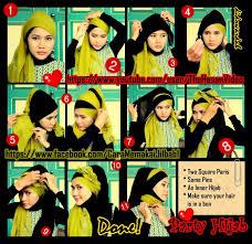 tutorial hijab pesta 2 kerudung tutorial jilbab untuk hijaber indonesia tutorial hijab pesta dan