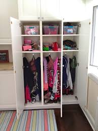 kids lockers for home ikea cabinets locker style for kids stuff playroom remodel