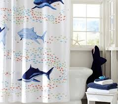 Pottery Barn Kids Shower Curtains Transportation Shower Curtain Pottery Barn Kids Boy Shower