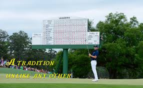 Masters Flag Copyright 2017 Masters Tournament