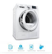 8kg front load dryer with heat pump technology dv80f5e5hgw