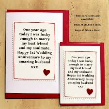 1st year anniversary ideas handmade wedding gifts for husband lading for