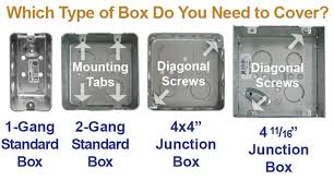 ceiling fan electrical box adapter how to install centered light switch or outlet on 2 gang box