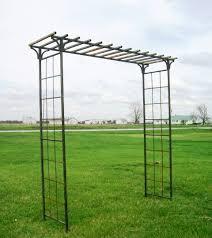 metal garden arbor home outdoor decoration
