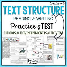 nonfiction text structure reading u0026 writing practice worksheets