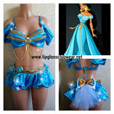 jasmine halloween costume adults girly jasmine inspired rave wear theme wear dance