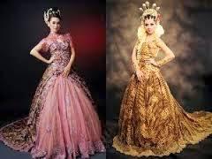wedding dress batik fashion batik wedding dress