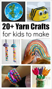 20 absolutely fantastic yarn crafts for kids to make