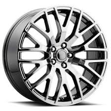 Black Chrome Mustang Rims Ford Mustang Performance Style 54 Pvd Black Chrome Rim By Factory