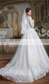 vintage princess lace wedding dress modest wedding dresses with