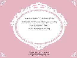 wedding tips wedding tip prestige weddings italy