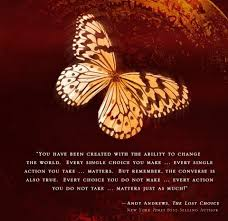 andy the butterfly effect books