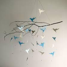 mobile chambre enfant mobile de colibri oiseau mobile mobile chambre denfant