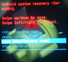 reset your android wear watch factory settings android
