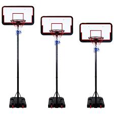 portable u0026 free standing full size basketball hoop u0026 net inc