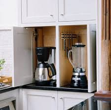 easy kitchen storage ideas great kitchen storage idea to tuck away appliances superb