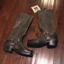motorcycle boots harness frye harness 15r charcoal boots on sale 49 off boots u0026 booties
