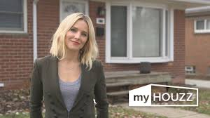 my houzz kristen bell treats her sister to a bright new basement