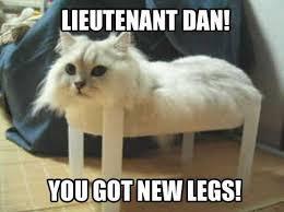 Pinhead Larry Meme - lieutenant dan meme by cuntthumper memedroid