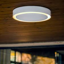 Contemporary Ceiling Lights by Contemporary Ceiling Light Round Metal Led Amigo By Gonzalo