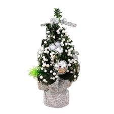 mini tree ornaments festival decoration for