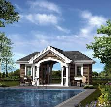 summerville pool cabana plan 009d 7524 house plans and more poolhouse plan 95941 plan 1 bathrooms pool house pinterest