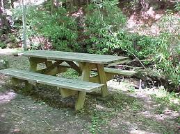 picnic table rental picnic areas at fall creek cabins near boone blowing rock