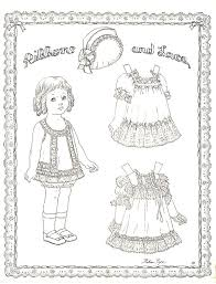 61 paper dolls images coloring coloring