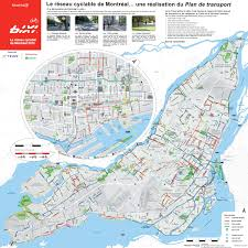 Map Montreal Canada by Montreal Cycling Bike Boxes New Paths A Counter And Avoiding