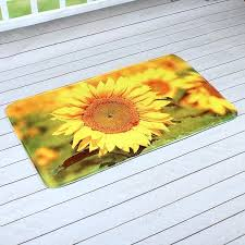 Affordable Outdoor Rugs Sunflower Kitchen Rugs 4 Kitchen Rug Set Sunflower Sunflower Print