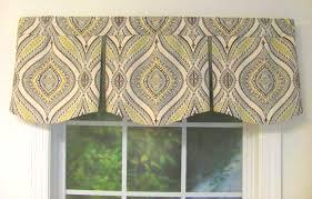 curved box pleat valance choose from 50 fabrics custom