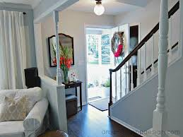 amanda rapp design our first house entryway and living room