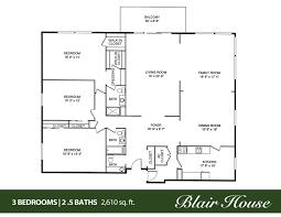 100 4 bedroom 3 bath house plans three bedroom two bath