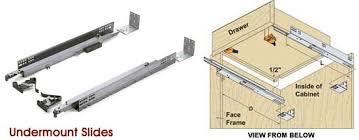 kitchen cabinet drawer guides glamorous kitchen cabinet slides 20 05230019 anadolukardiyolderg