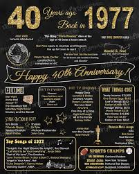 40 year wedding anniversary gift best 25 40th anniversary ideas on anniversary