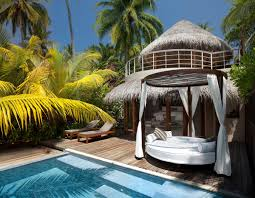 Swimming Pool Canopy by Lovely Resort Swimming Pool Design Ideas With Round Outdoor Bed