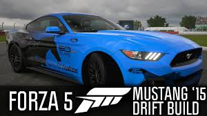 build ford mustang 2015 thing forza 5 2015 ford mustang drift build