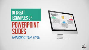 10 Great Exles Of Powerpoint Presentations Handwriting Style Great Power Point